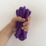 ゴムチューブを使った握力強化筋トレ